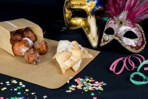 Packaging per i dolci di Carnevale