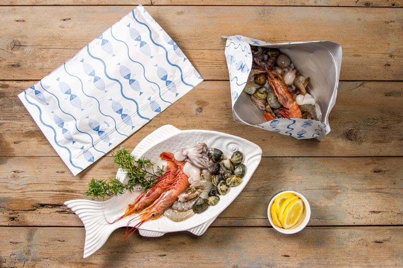Linea Zip & Strip per il pesce crudo