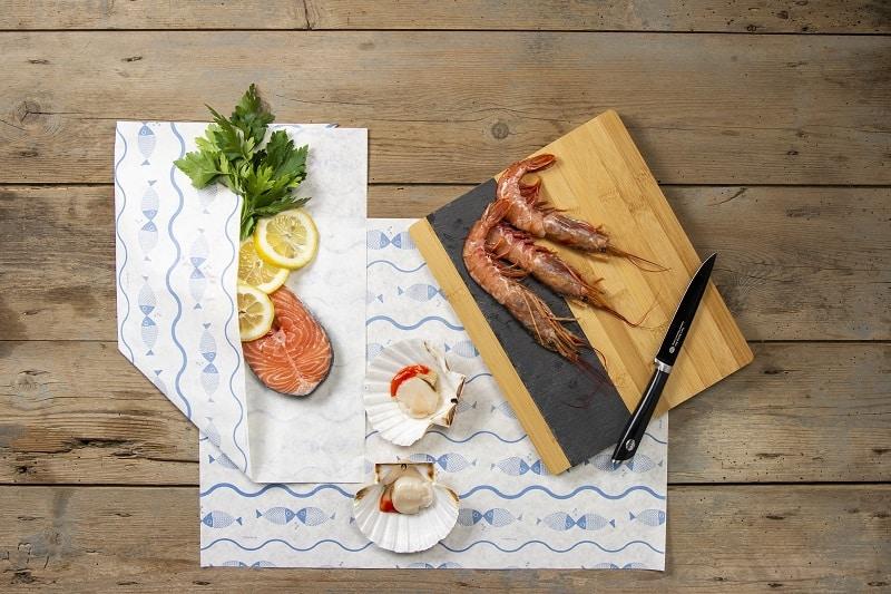 Packaging per pesce crudo