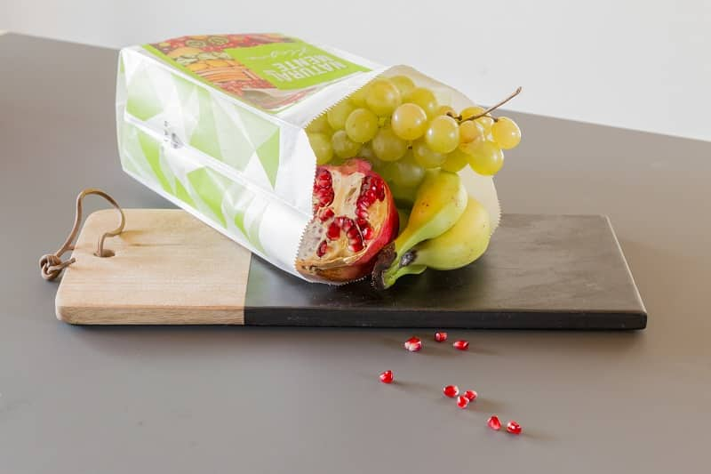 Packaging in carrta per frutta e verdura